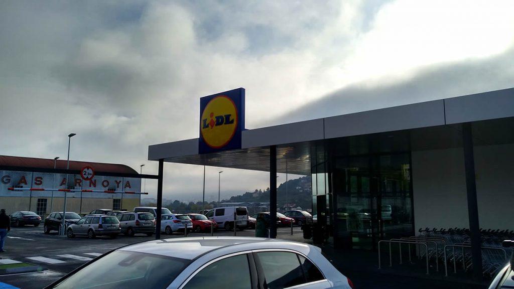 Lidl de Quintela en Ourense