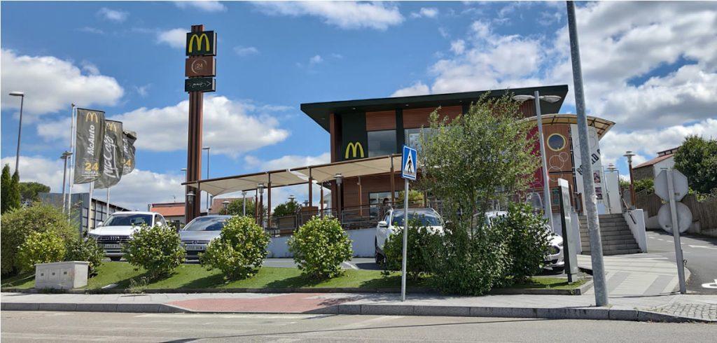 McDonalds O Fonsillón