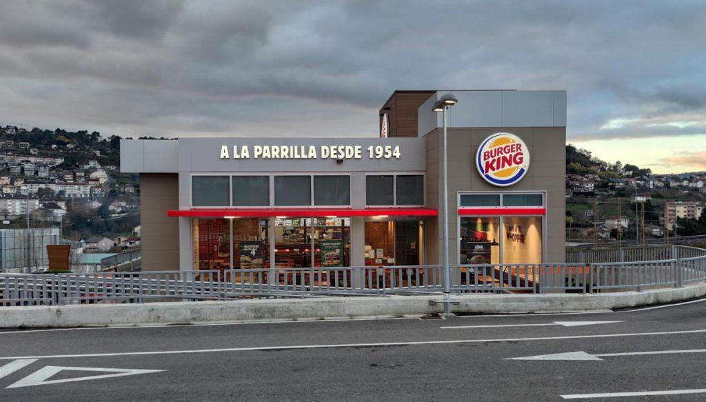 Burger King en O Fonsillón