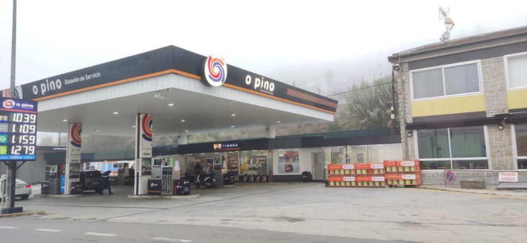 Estación de Servicio O Pino