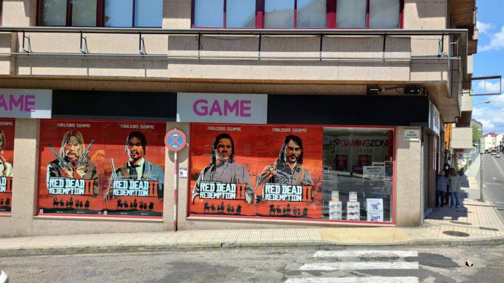 Tienda de videojuegos Game Ourense